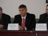 Mr. Yuri Miroshnychenko, the Representative of the President of Ukraine in the The Verkhovna Rada of Ukraine, at the press-conference